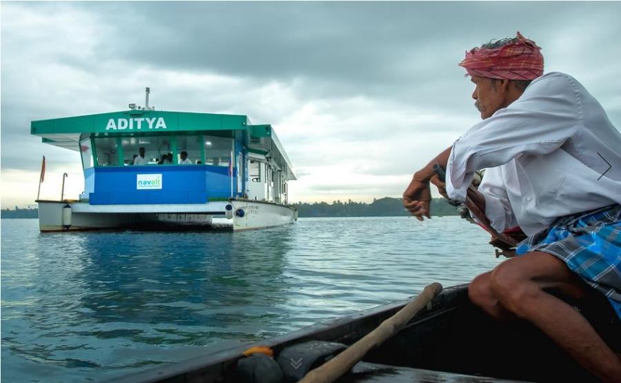 Historique de la société, Aditya, 1er Navire Solaire en Inde 2 ans