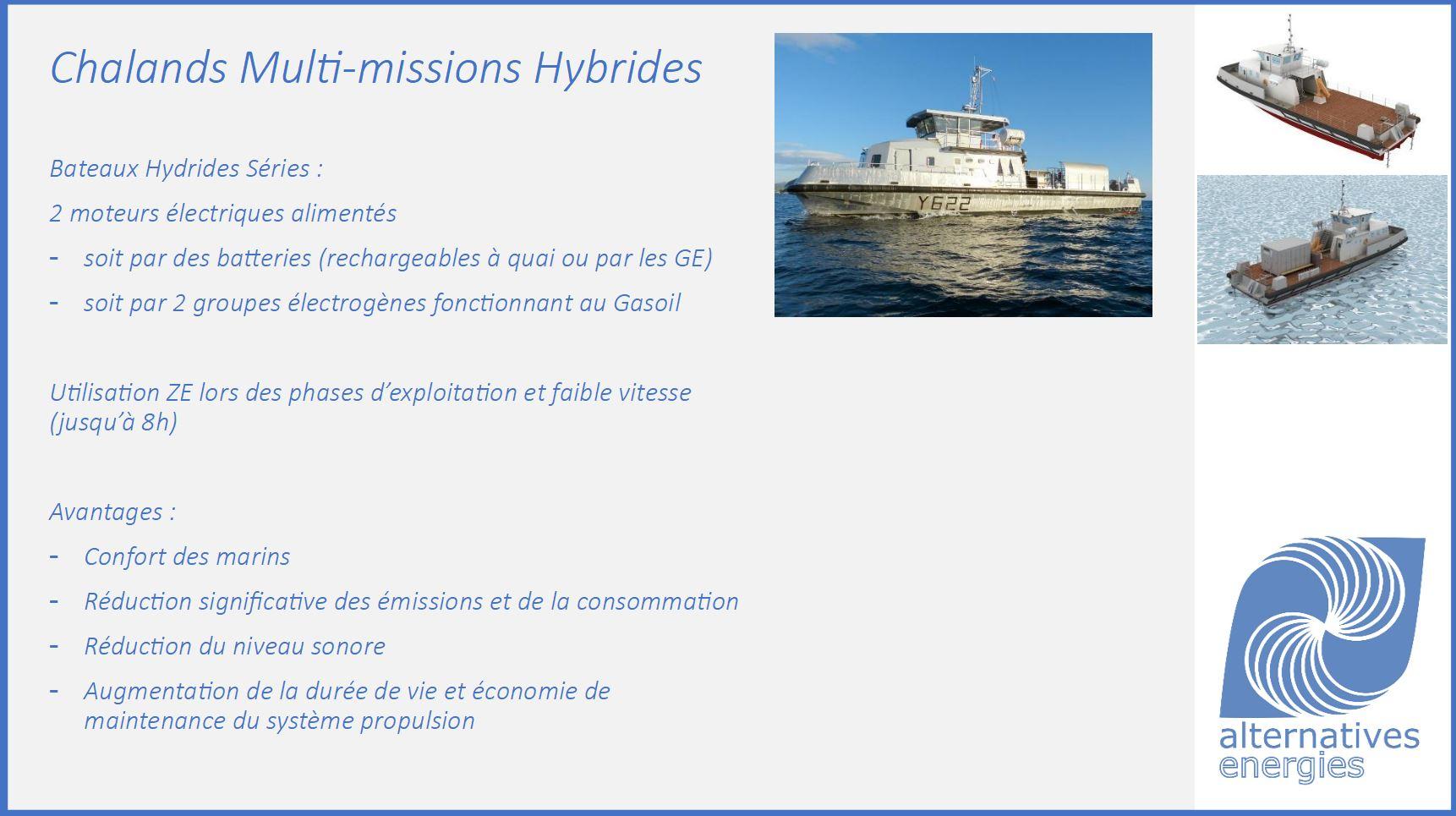 Chalands Multi-Missions Hybride, Conférence NAVEXPO