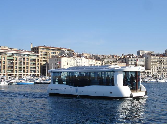 Ferry-boat Marseille par alternatives energies
