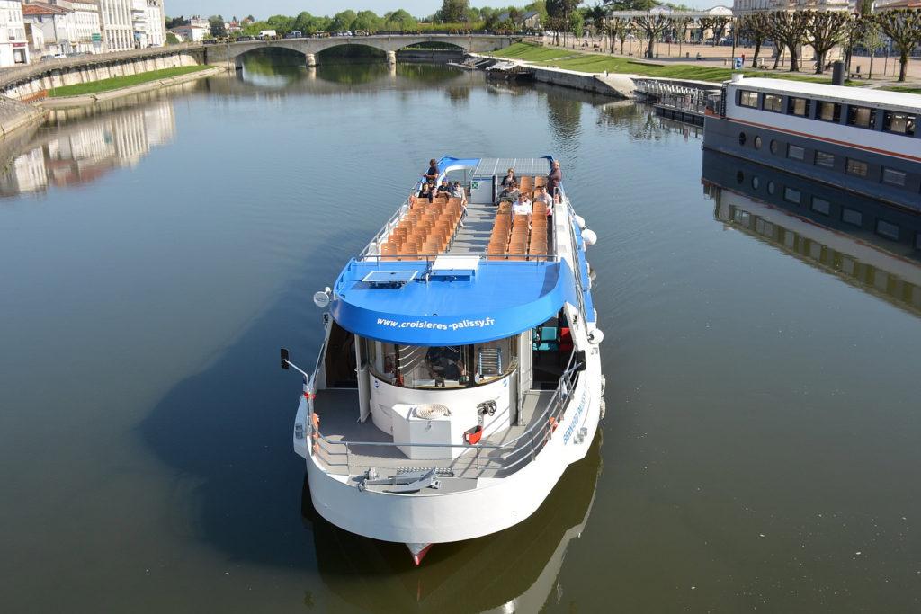 Nos réalisations Bernard Palissy 3 visite de la charente en bateau